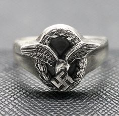 GERMAN RING WW2 LUFTWAFFE OBSERVERS http://antiq24.com/product/german-ring-ww2-luftwaffe-observers/