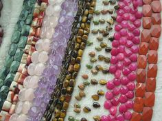 Gem beadsGem beads can include natural gemstone, enhanced gemstone or manmade reconstructed materials. Available in various shapes and sizes.