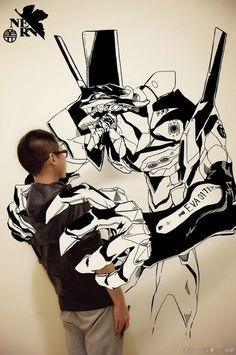 Cool Photos of Artist Trapped in His Own Manga Art Series - News - GeekTyrant