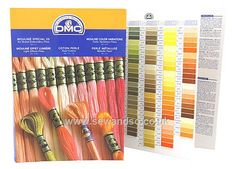 Buy DMC Stranded Cotton Shade Card Online at www.sewandso.co.uk