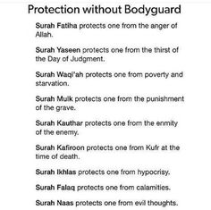 About Islam Need protection? Pick up your Qur'an and read! Allah Quotes, Muslim Quotes, Religious Quotes, Hijab Quotes, Allah Islam, Islam Quran, Islam Hadith, Alhamdulillah, Islamic Teachings