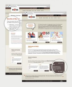 NASS - the website needed to be easy to maintain, with a private area where documents could be uploaded for download by members.  Due to the range of special needs schools that NASS work with the site needed to be accessible to a range of special education needs. http://www.infotex.co.uk/our-work/view/nass-website