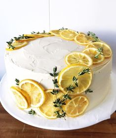 A spring lemon blueberry cake with zesty lemon buttercream! This layer cake i. Cake Recipes, Dessert Recipes, Pasta Recipes, Delicious Desserts, Yummy Food, Sweet Desserts, Blueberry Cake, Pretty Cakes, Let Them Eat Cake