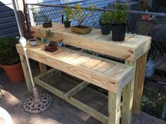 Bonsai Display Bench | by geekwithtools