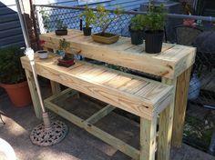 Bonsai Display Bench   by geekwithtools