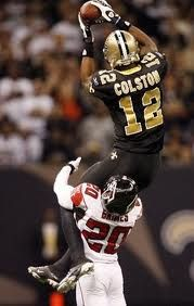 Marques Colston, best WR, makes it look sooo easy....love him
