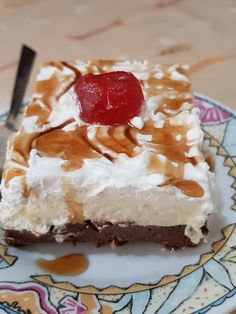 Greek Desserts, Greek Recipes, Cookbook Recipes, Cooking Recipes, Food For Thought, Cheesecake, Food And Drink, Ice Cream, Pasta