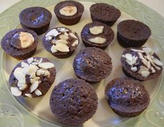 Shelly's Triple Chocolate Protein Mini Muffins
