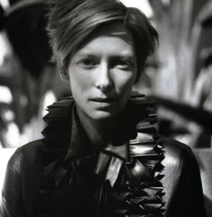 "Tilda Swinton - ""When I was nine or 10, I wasn't pretty anymore–which is a big advantage. It must be a nightmare to be a beautiful teenager. I got this strange kind of androgyny. I was everything girls don't want to be—incredibly tall, incredibly thin, and unimpressive. For years it's still been possible to hide as a sexual being."""