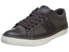 Polo Churston Mens 816564503-002 Grey Brown Casual Shoes Sneakers Size 10.5