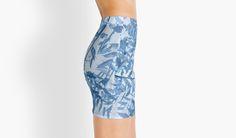 Blue Foliage by aRTsKRATCHES #Gonna stilo con unico design #e-commerce @redbubble #moda