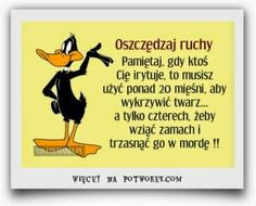 FOCH: POWIEDZONKA   KAWAŁY Polish Memes, Weekend Humor, Motivational Quotes, Inspirational Quotes, Keep Smiling, Wtf Funny, Funny Moments, Sentences, Movie Stars