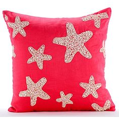Coral Pillow Covers, Mother Of Pearls Starfish Ocean and ... https://www.amazon.com/dp/B016H8WNSU/ref=cm_sw_r_pi_dp_x_cmIayb87JSZSF