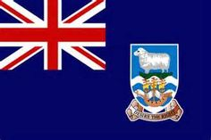 Flag of the Falkland Islands - Bandeiras da América do Sul – Wikipédia, a… Arctic Monkeys, Flags Of The World, Countries Of The World, Whitney Houston, Aerosmith, Billie Holiday, Geography Quiz, Venice, Lugares