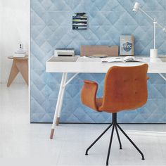 PRIMUM | Primum Chair used as home office chair.  Photo: Schoener-wohnen.dk indretning, hjemmekontor, arbejdsplads, kontorstol, Bent Hansen, skrivebord