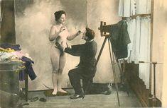 Фотограф и модель, 1890 - 1909
