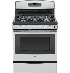 "JGB695SEFSS   GE® 30"" Free-Standing Gas Convection Range   GE Appliances"