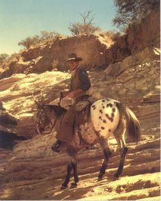 John Wayne Riding Cochise In El Dorado 1966