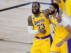 LeBron James and Anthony Davis don't embrace one potentially sinful act. Los Angeles Clippers, Los Angeles Lakers, Miami Heat, Stephen Curry, Kevin Durant, Raptors, Oklahoma City, Golden State Warriors, Lebron James