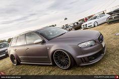 Matte Audi RS4 Avant