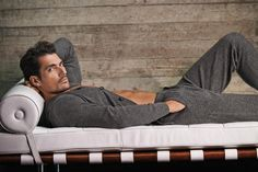 David Gandy for Autograph, Marks & Spencer Pure Cashmere Pyjama Bottoms and Top - £150 each