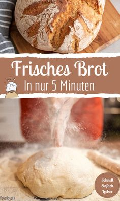 Täglich frisches Brot in nur 5 Minuten With this method you have fresh bread in just 5 minutes a day Breakfast Toast, Breakfast Recipes, Outdoor Kitchen Bars, Homemade Pancakes, Belgian Waffles, Household Cleaning Tips, Backpacking Food, Fresh Bread, Picky Eaters