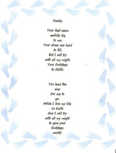 fathers day poem nursery