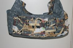 The law themed pockets carried over into the bag lining. Truly a one of a kind gift