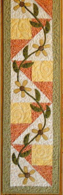 Lazy Daisy Place Mat and Table Runner by GrandmasSupplyAttic, $10.00