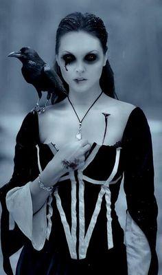 creepygothkid:  victorian-goth:  Victorian goth  . u n d e a d . u n d e a d . u n d e a d .