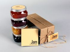 The Jam Packaging 2 25 Sweet Jam Jar Labels & Packaging Design Ideas