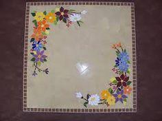 Resultado de imagem para mesa em mosaico