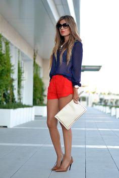Mi aventura con la moda: BLUE & RED