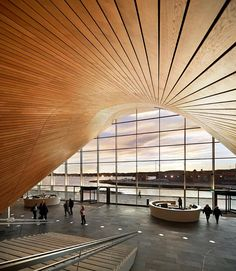 Kilden Performing Arts Center  Kristiansand, Norway Architecture - ALA Architects Photo - Åke E:son Lindman | Hufton + Crow | Iwan Baan