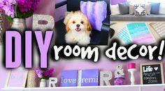 DIY Room Decor Ideas For Teens! Cute, Cheap & Easy!