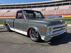 67 Chevy Truck, Chevy Luv, Vintage Chevy Trucks, Classic Chevy Trucks, Chevrolet Trucks, Classic Cars, Dropped Trucks, Lowered Trucks, C10 Trucks