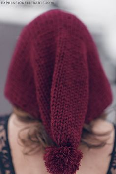 Dragon Watcher's Hood - knitted awesomeness!!