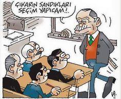 Siyasi Karikatürler: Latif Demirci