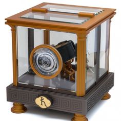 Single Automatic Watch Winder by Kunstwinder in Chronos Bronze Color