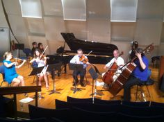 Camerata RCO performing in Rockefeller University, with Weyin Chen. Mozart's piano concerto KV 414