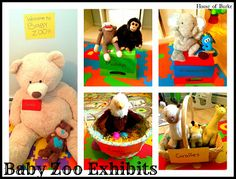 Pretend Play: Baby Zoo - a fun play invitation for your baby-preschooler!