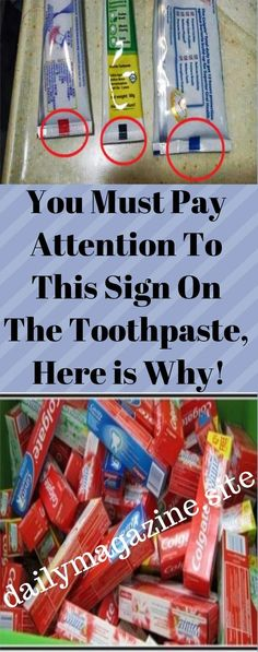 You Must Pay Attention To This Sign On The Toothpaste, Here is Why!