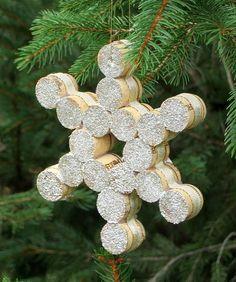 Decorare l'albero di Natale con i tappi di sughero! Ecco 20 idee + Tutorial