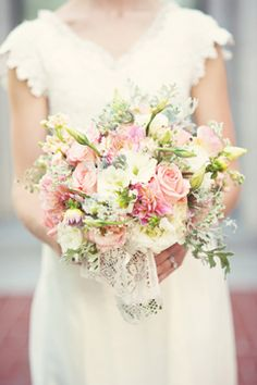 Vintage wedding bouquet. Photography by Jessie Alexis Photography. Utah Valley Bride 2012. #utahvalleybride
