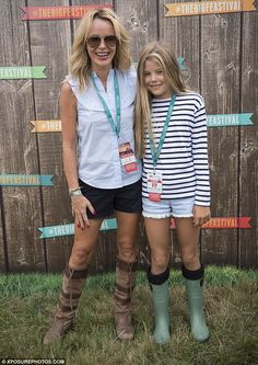 Amanda Holden spends day with lookalike daughter Alexa, 10,