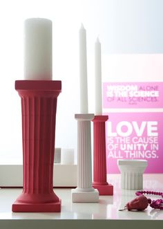 Candle sticks & Wall signs