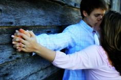 super cute engagement picture