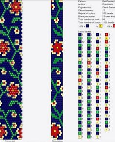 We knit with bead copyright schemes and not only Crochet Bracelet Pattern, Crochet Beaded Necklace, Loom Bracelet Patterns, Bead Crochet Patterns, Bead Crochet Rope, Bead Loom Bracelets, Beaded Jewelry Patterns, Beading Patterns, Seed Bead Jewelry