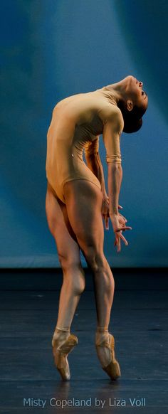 Misty Copeland by Liza Voll Photography