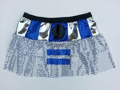 R2D2+Inspired+skirt+by+RockCitySkirts+on+Etsy